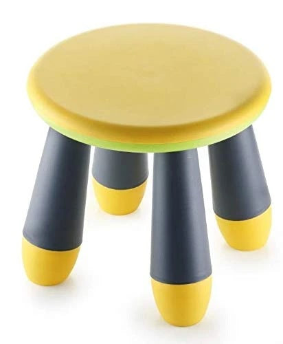 Foldable Stool for Kids, Multi-Purpose Pick N Move Portable Baby Stool (Multi Colour) - H001025