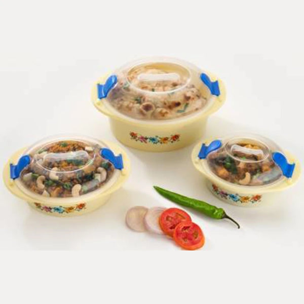 Hot N Fresh Insulated Plastic Casserole Gift Set (3 Pieces) - H01178