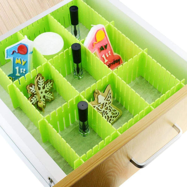 6 Pcs Adjustable Drawer Organizer and Kitchen Board Divider - H01268