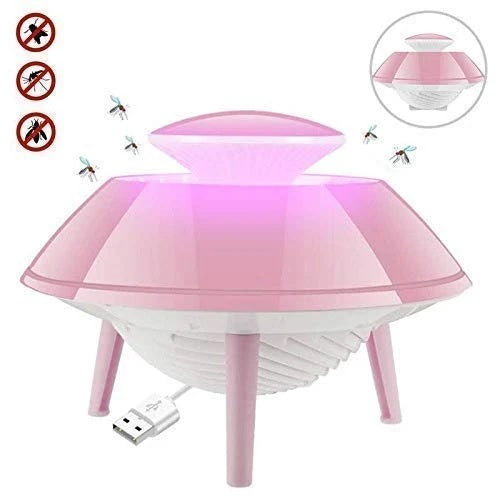 Electric Mosquito Killer LED Lamp Light Bug Dispeller with Suction Fan - H01284