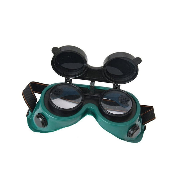 Welding Goggles (Dark Green, Large) - H01342