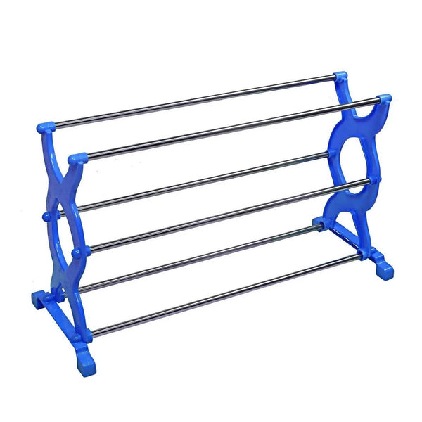3 Layer Multipurpose Portable Folding Shoe Rack/Shoe Cabinet - H01343