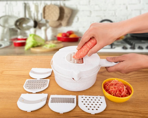Multipurpose 12 in 1 Vegetable and Fruit Chopper Cutter Grater Slicer - H01397