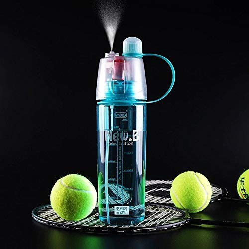New.B Plastic Sports Spray Water Bottle - H01415