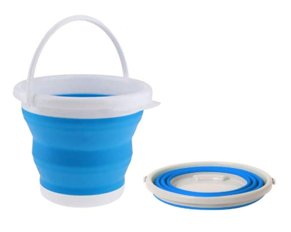 Foldable Silicone Collapsible 5 Litre Bucket - H01432