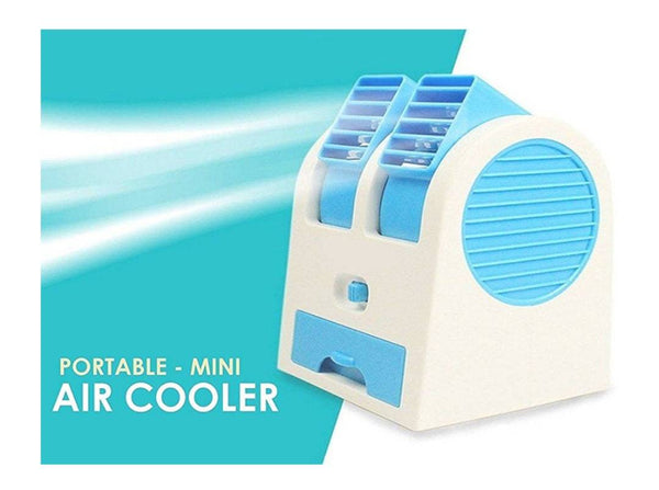 Mini Fan & Portable Dual Bladeless Small Air Cooler - H01537