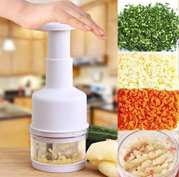 Onion Garlic Chopper Squeezer Crusher Cutter Tool - H01567