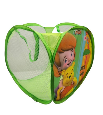 Cartoon Printed Foldable Laundry Basket Small - H01579