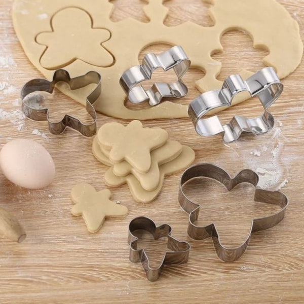 Gingerman Cookie Cutter Set of 5 Pieces - H01634