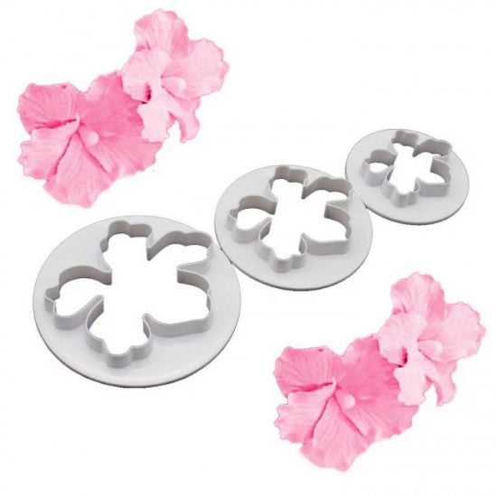Hawaiian Flower Hibiscus Shape Fondant Cutter - H01638