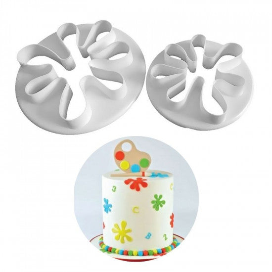 Little Palm Shape Fondant Cutters - H01640