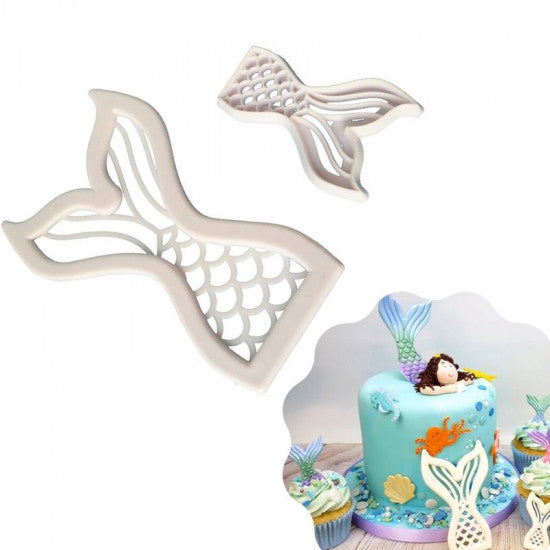 Mermaid Tail Fondant Cutter - H01643