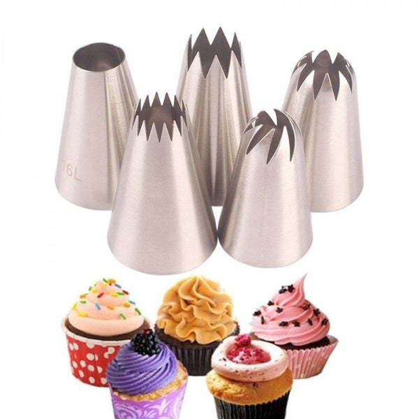 Icing Nozzles Tips Set of 5 Pcs - H01653