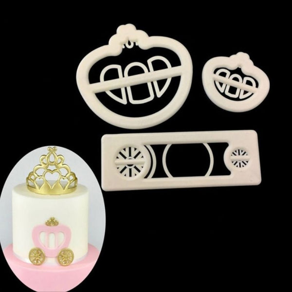 Princess Carriage Fondant Cutter - H01664