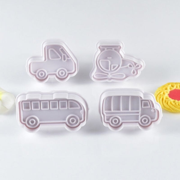 Transport Plunger Cutter Set of 4 Pieces - H01676