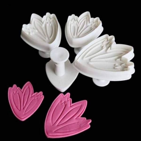 Tulip Plunger Cutter Set of 3 Pieces - H01678
