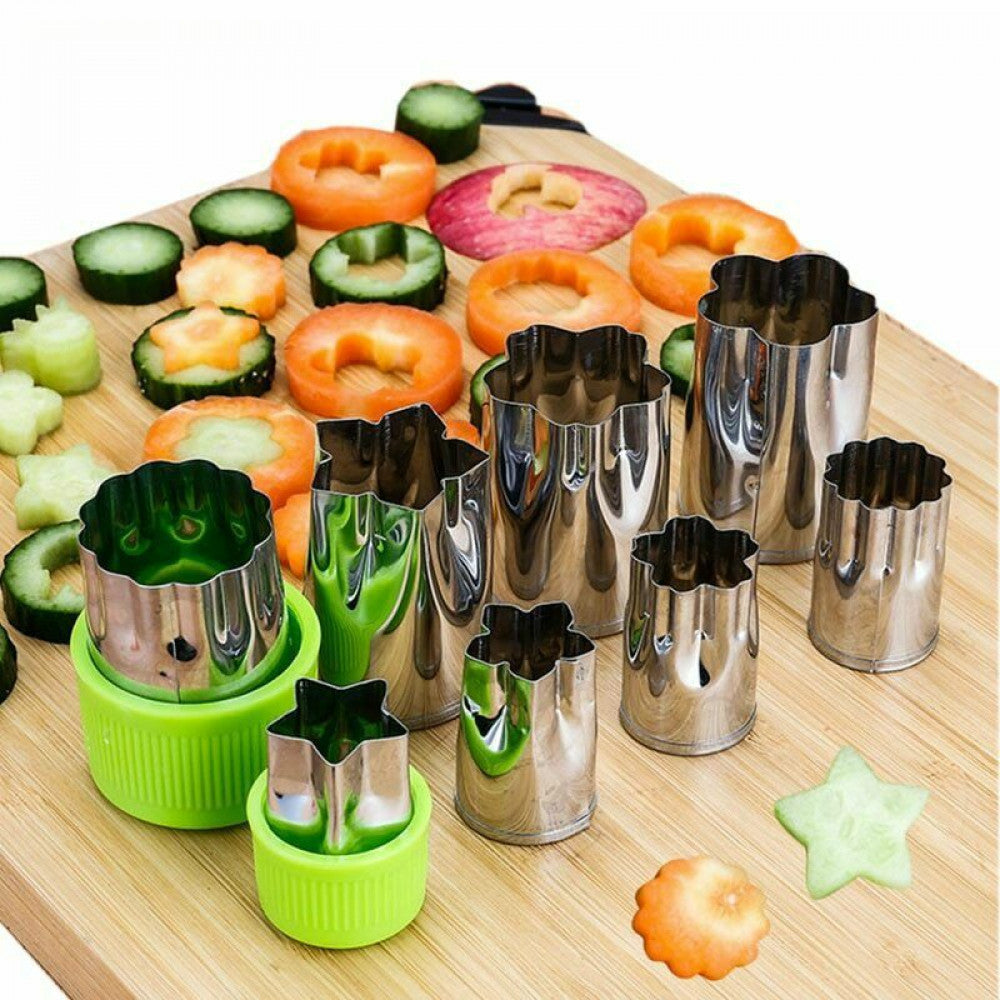 Vegetable / Fruit Cutter Set of 8 Pieces - H01680