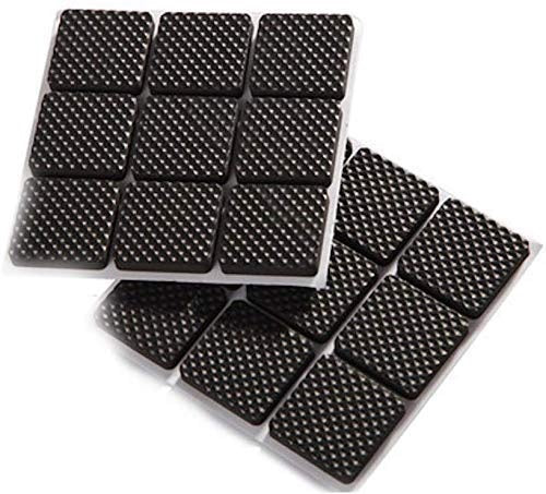 Self Adhesive Rubber Pads for Furniture Floor Scratch Protection ( 18 Pieces) - H01695