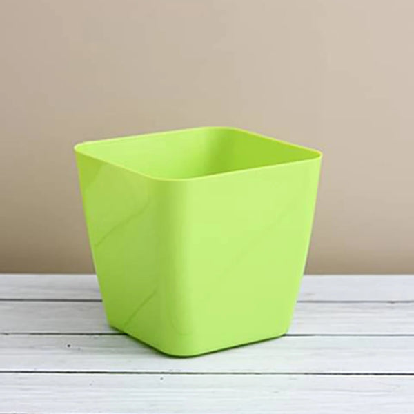3 Pcs - Flower Pots Square Shape For Indoor/Outdoor Gardening - H01702