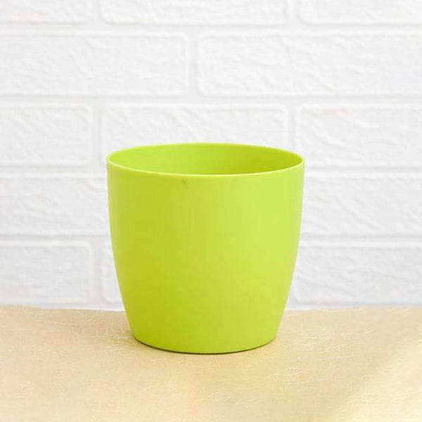3 Pcs - Flower Pots Round Shape For Indoor/Outdoor Gardening - H01703