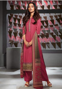 Formal Glaze Cotton Un-Stitch Suit - S00135