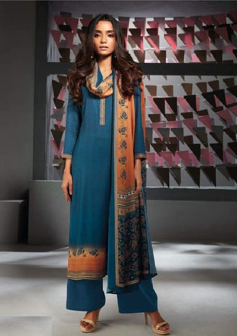 Formal Glaze Cotton Un-Stitch Suit - S00136