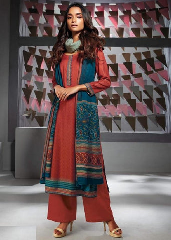 Formal Glaze Cotton Un-Stitch Suit - S00137