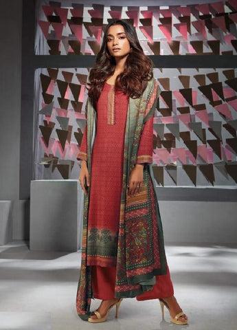 Formal Glaze Cotton Un-Stitch Suit - S00140