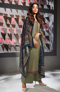 Formal Glaze Cotton Un-Stitch Suit - S00141