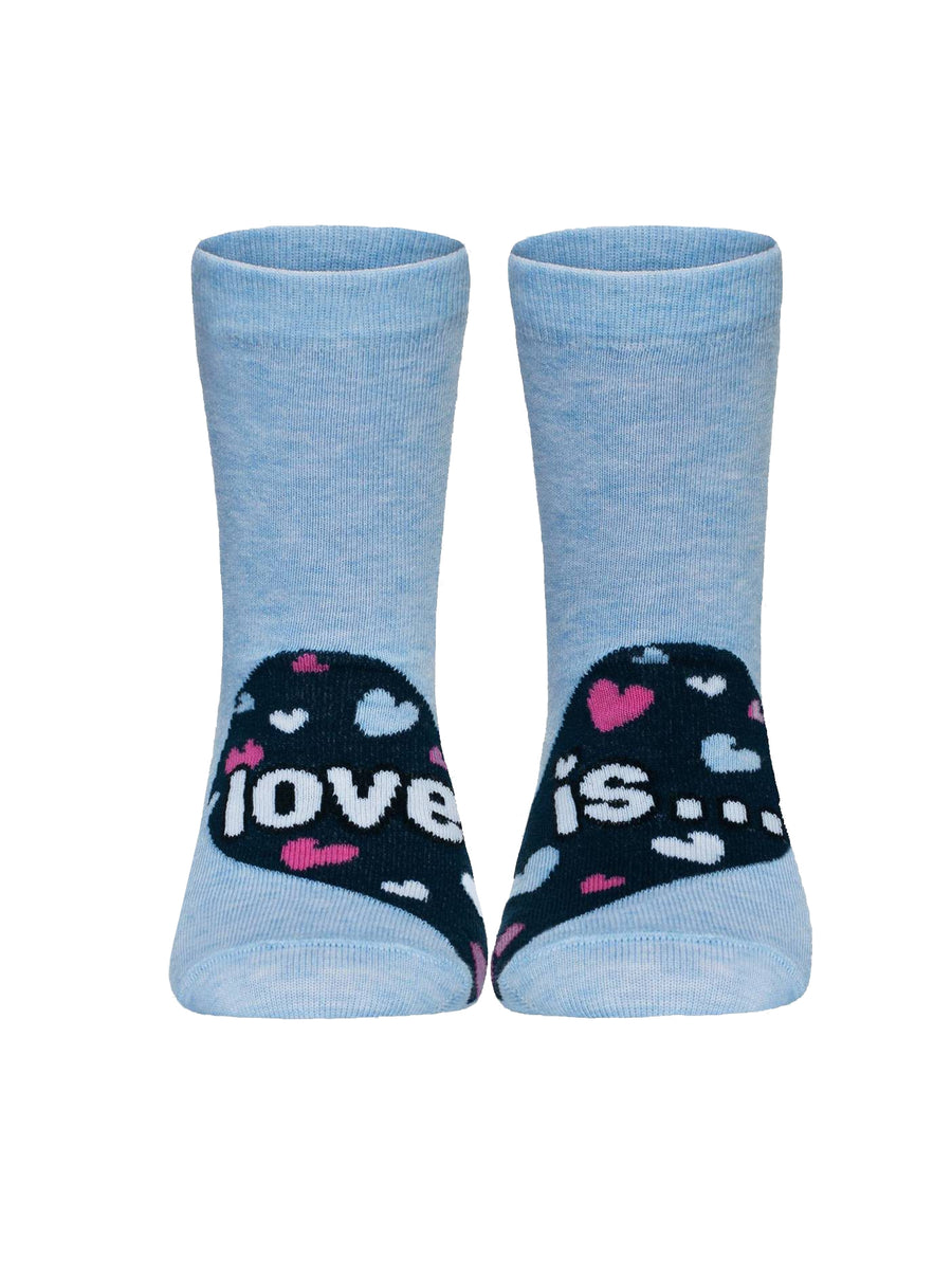 "Girl's socks ""Love is"""