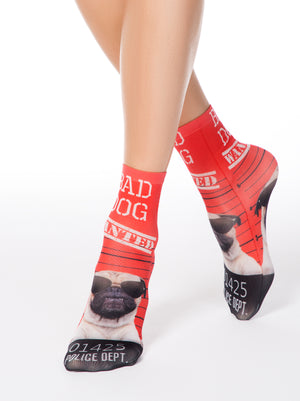 "Conte Elegant Socks ""The Bad Dog"""