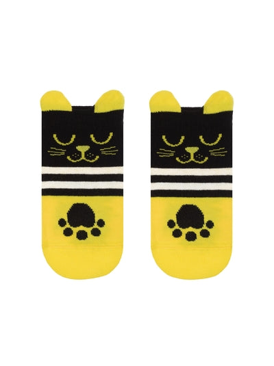"Conte Kids Socks ""Yellow Cat"""