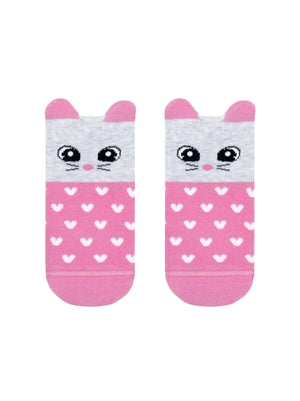 "Conte Kids Socks ""Pink Rabbit"""