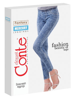 Conte Jeggings Mercury