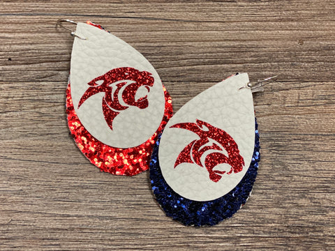 Cy Springs High School Earrings