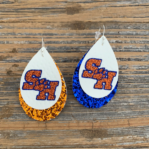 Sam Houston State Earrings