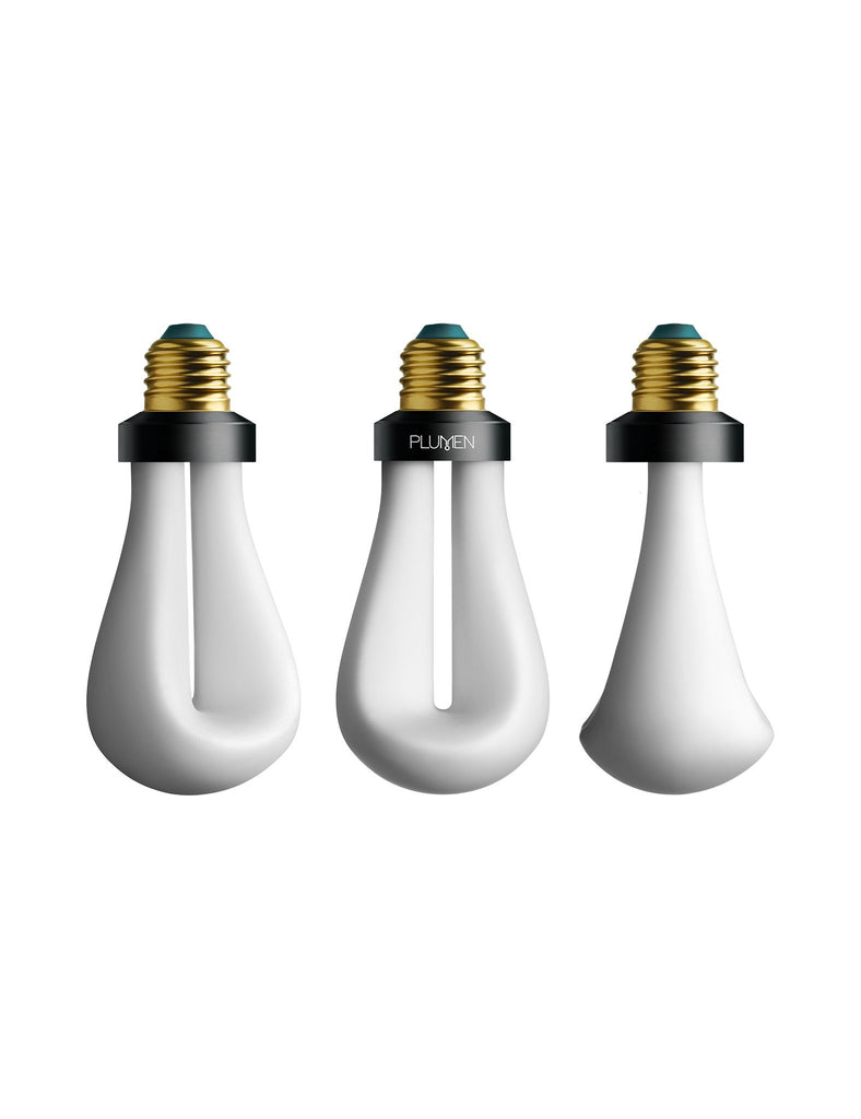 Drop Cap set in Red with 002 LED bulb