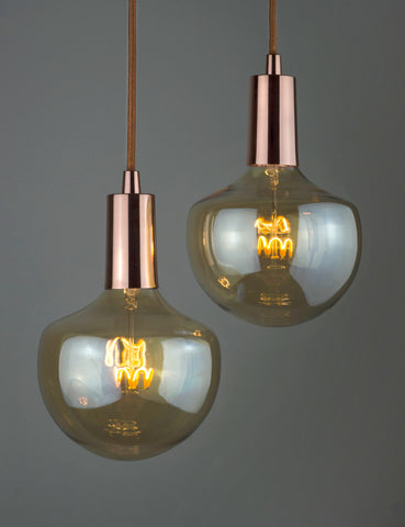 Plumen Pendant and Wilma Dimmable LED Light Bulb