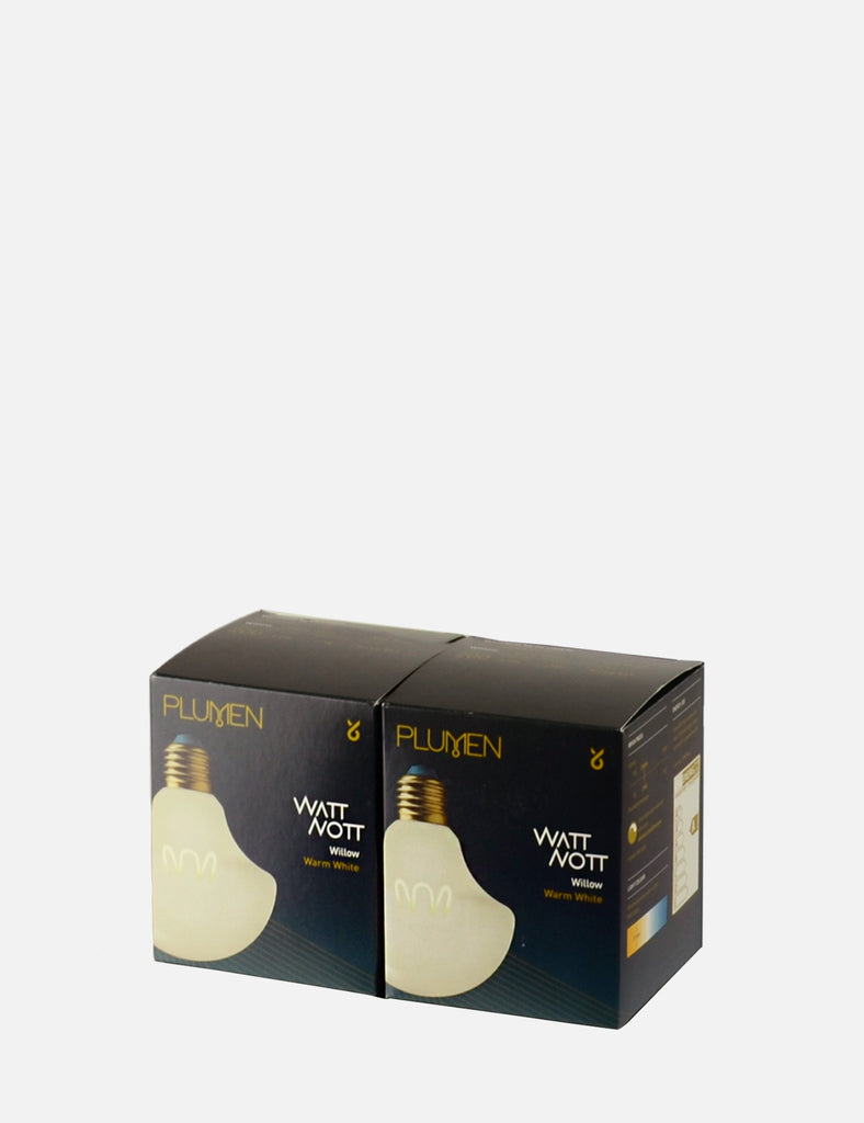 Willow Milky 2 Bulb Multipack