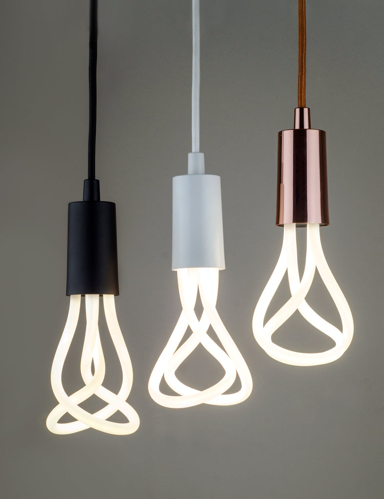 Plumen 001 LED Bulb And Plumen Pendant Set
