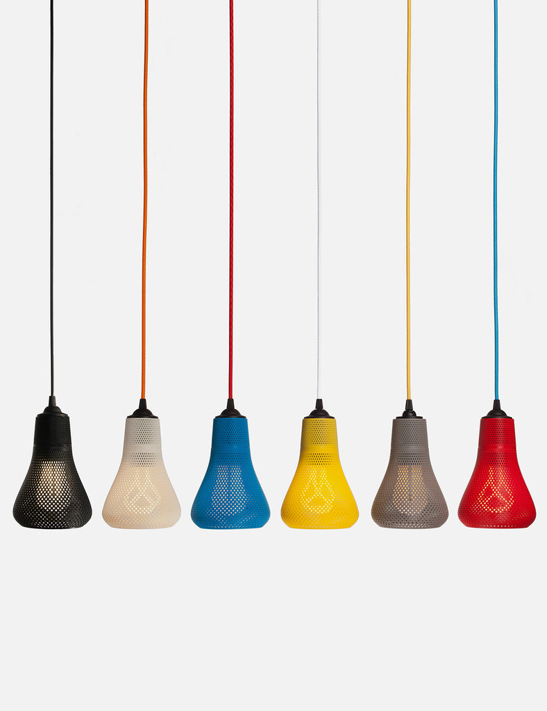 Kayan XL with Plumen 001 Light Bulb - 3D Printed Shade by Formaliz3d