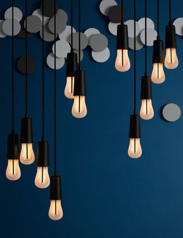 Plumen 002 LED Bulb and Plumen Pendant Set