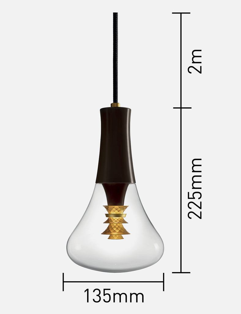 Plumen 003 lightbulb dimensions
