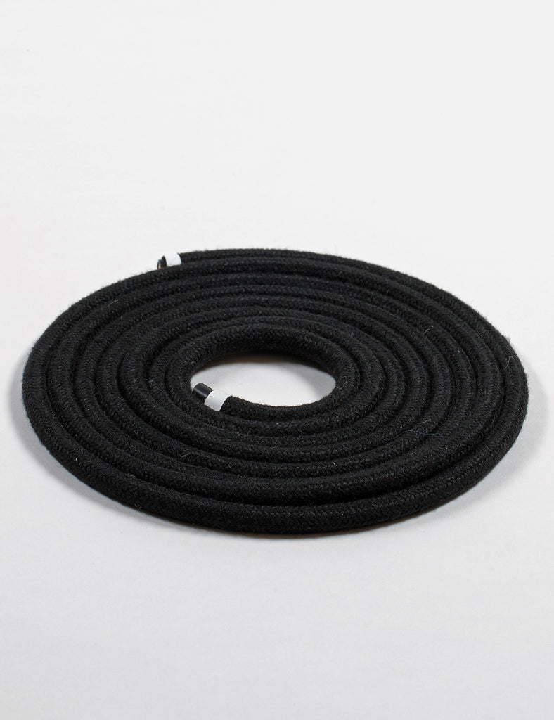 Fabric Cable Black Linen