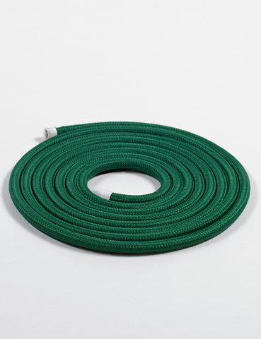 Fabric Cable Racing Green