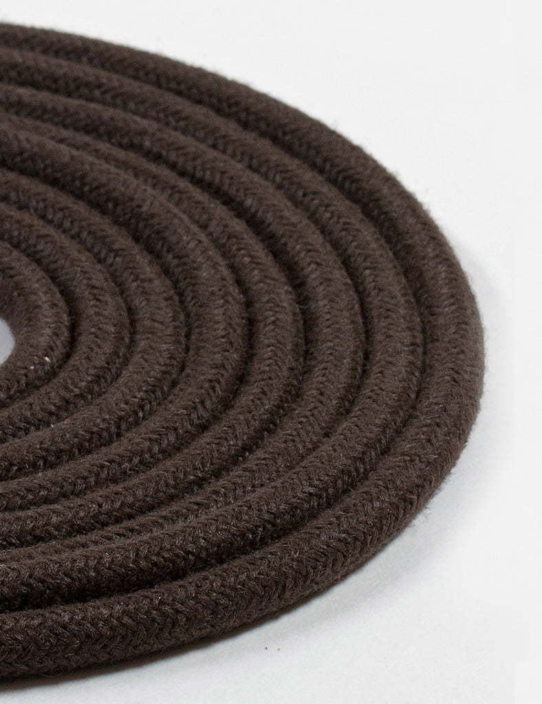 Fabric Cable Brown Linen