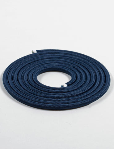 Fabric Cable Navy Blue
