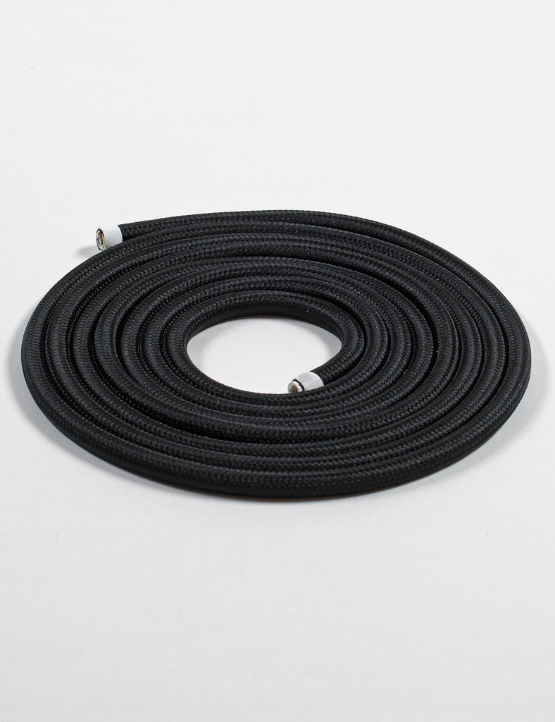 Fabric Cable Jet Black