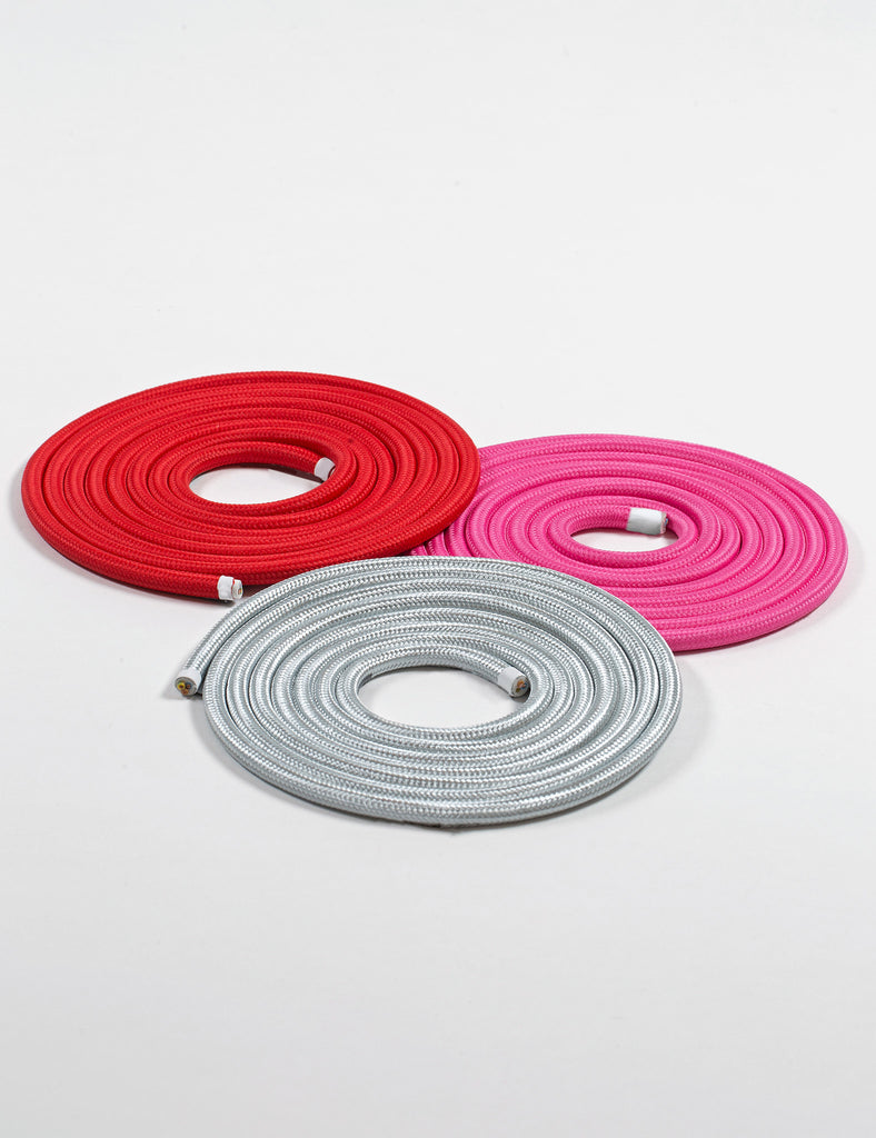 Plumen cable grey, red, pink