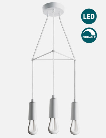 3 Way Drop Cap Chandelier